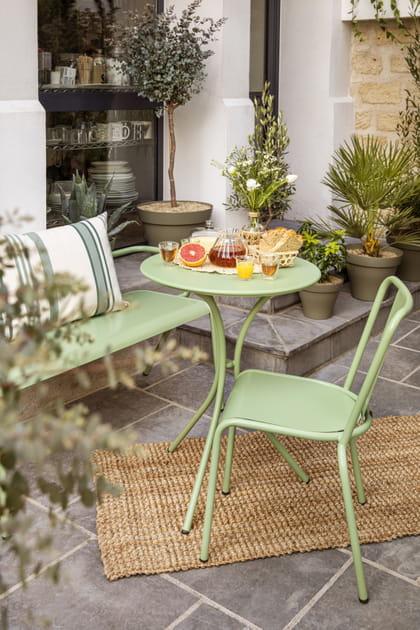 L'objet du désir: le salon de jardin Bergamotte