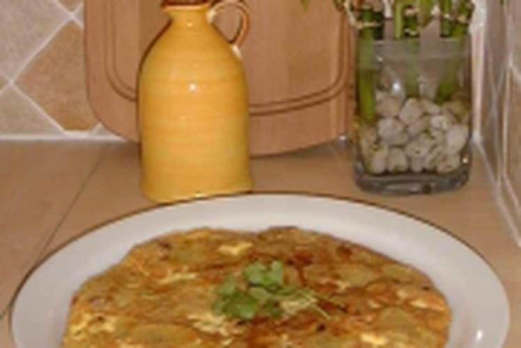 Tortilla aux oignons