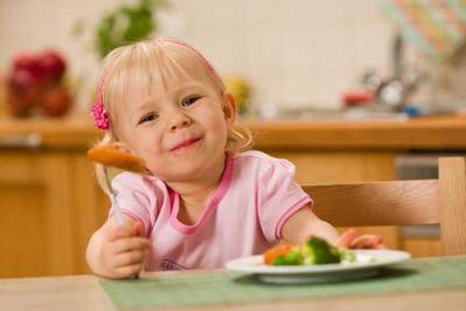 Enfants et légumes : tout se joue avant 2 ans ?