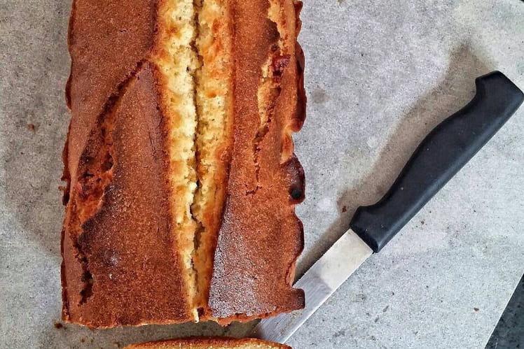 Cake parfait aux fruits confits