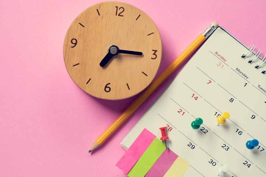 Calendrier de ménage: planning d'1mois pour ranger en 30min par jour