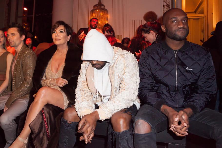 Kris Jenner, Kanye West et Corey Gamble