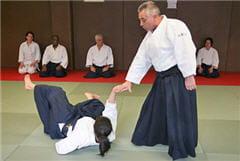 le principe de l'aïkido : se défendre efficacement mais sans agressivité.