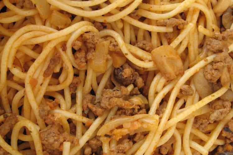 Spaghetti à la bolognaise à ma façon