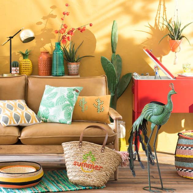 ambiance caliente de maisons du monde. Black Bedroom Furniture Sets. Home Design Ideas