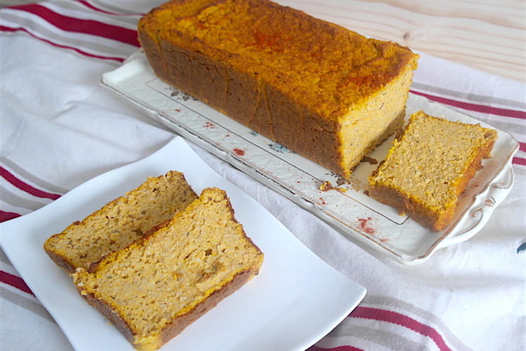 Cake au butternut et son d'avoine