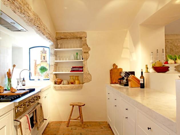 Une cuisine hors du temps