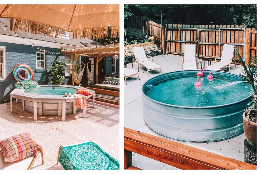 Piscine en cuve, un bon moyen de se baigner avec style cet été!