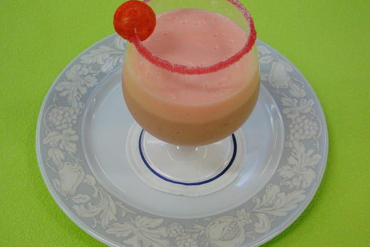 Milk-shake à la fraise Tagada