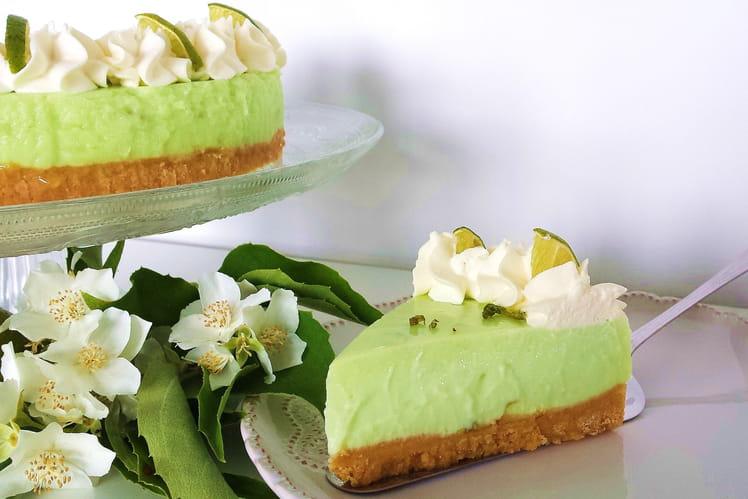 Key Lime Pie (cheesecake au citron vert meringué)