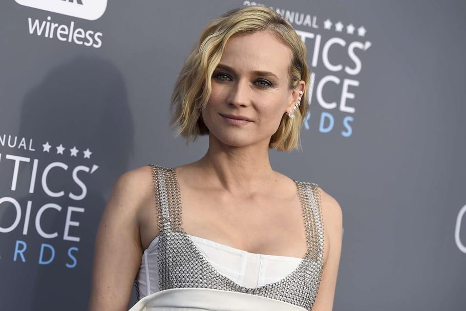 Look beauté de star: Diane Kruger enflamme le tapis rouge