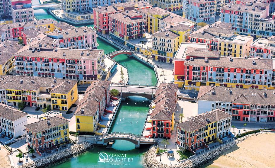 Shopping sur l'île The Pearl-Qatar