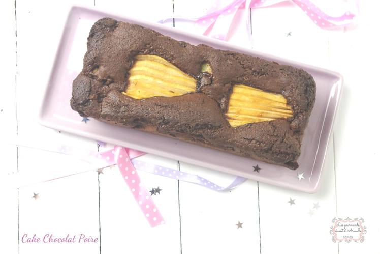 Cake chocolat et poires