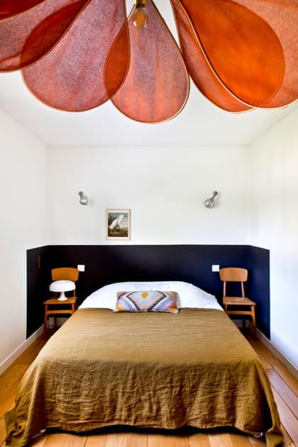 Une chambre au lit sublimé