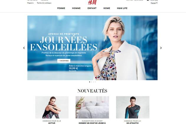 Le e-shop de H&M