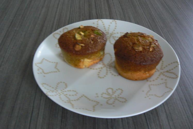 Muffins pomme-pistache