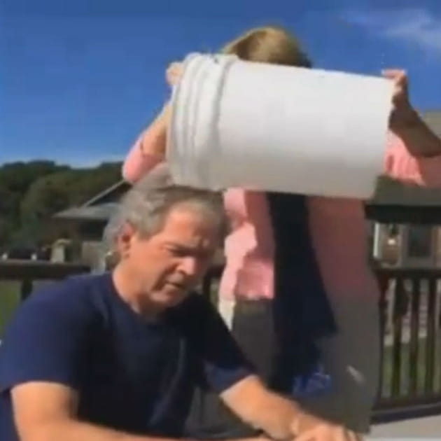 George W. Bush Ice Bucket