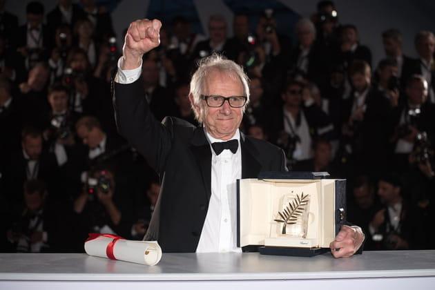 Ken Loach a reçu la Palme d'or à Cannes