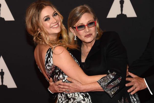 Avec sa fille Billie Catherine Lourd