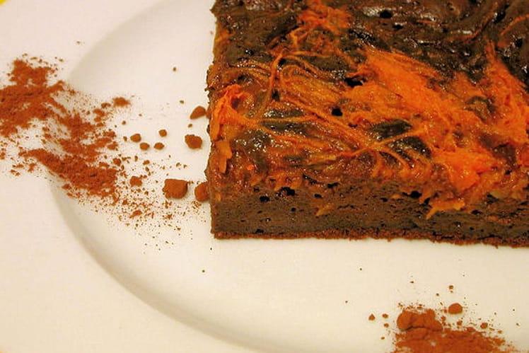 Moelleux chocolat-potiron