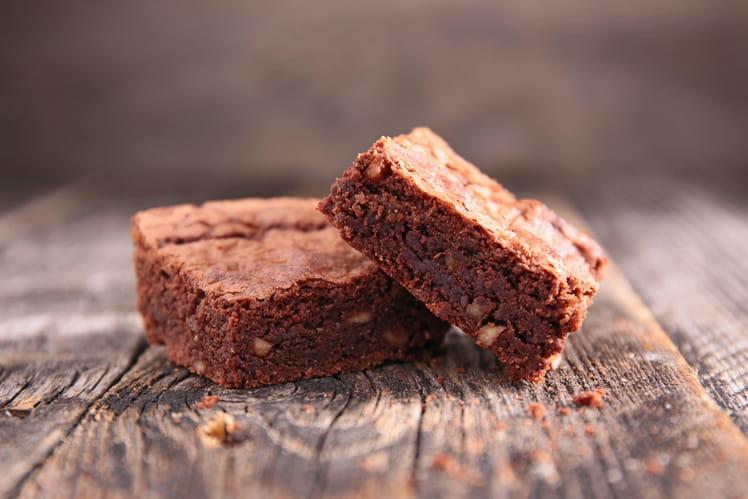 Brownie au caramel