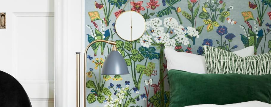 papier peint tapisserie des conseils pour habiller vos murs. Black Bedroom Furniture Sets. Home Design Ideas