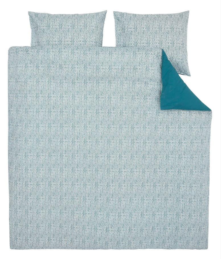 la parure de lit verte mon linge de lit petit prix. Black Bedroom Furniture Sets. Home Design Ideas