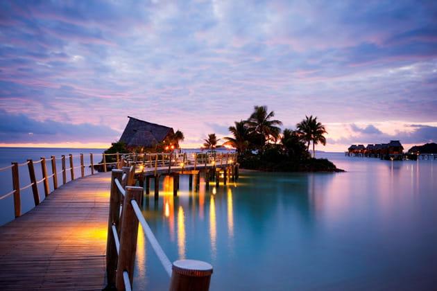 Le Likuliku Lagoon Resort à Malolo à Fidji