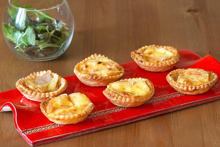Tartelettes aux poires et Maroilles