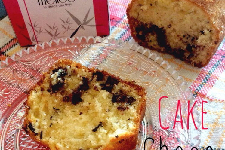 Cake chocolat framboises