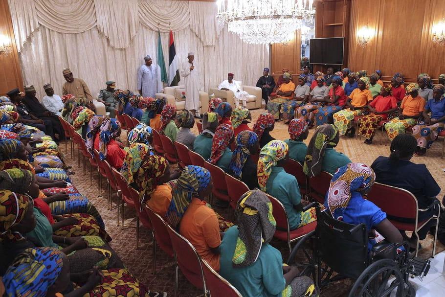 Boko Haram: 82lycéennes de Chibok libérées