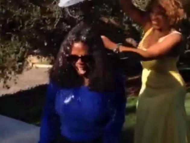 Oprah Winfrey Ice Bucket Challenge