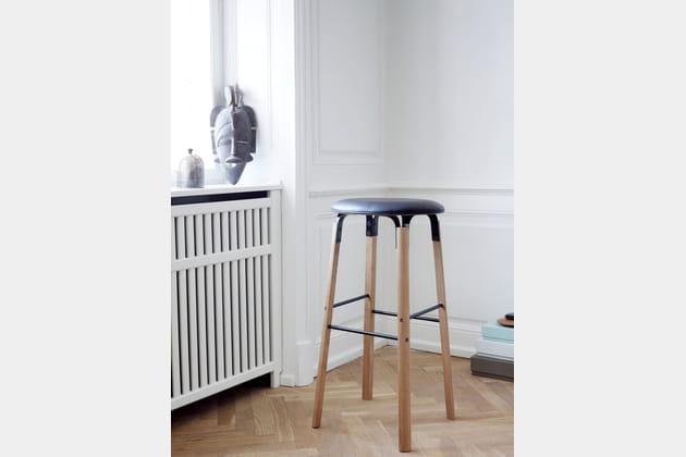 tabouret edgar 2. Black Bedroom Furniture Sets. Home Design Ideas