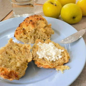 scones grumeleux pommes-cardamome