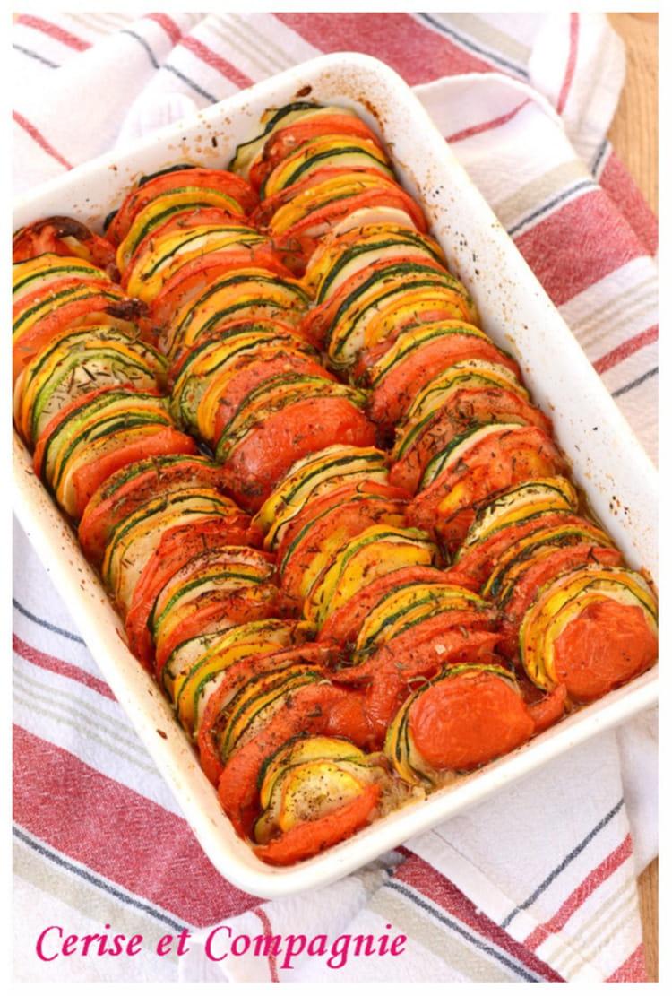 Recette Facile Du Tian Provencal tian de légumes