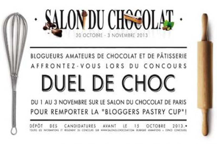 Salon du Chocolat de Paris 2013 : un concours pour les blogueurs