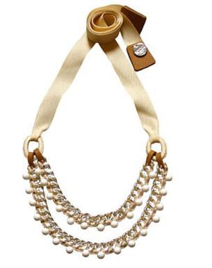 collier de perles à nouer wing paris