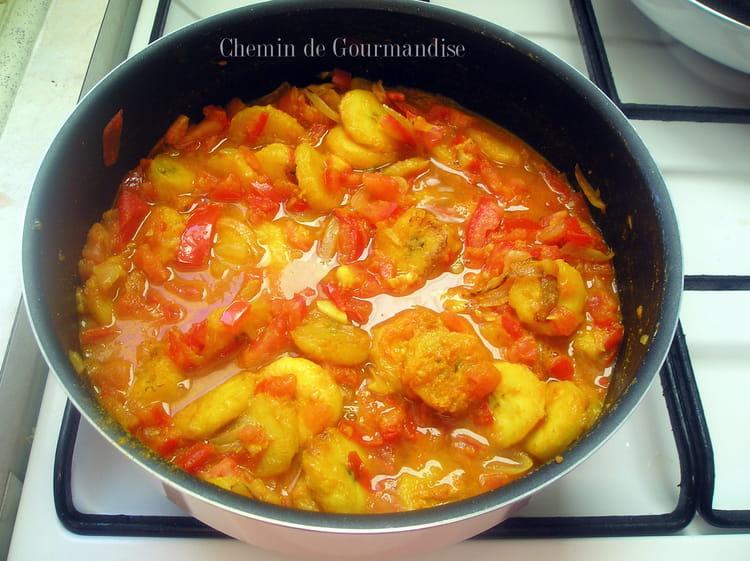 Recette de rougail la bananes plantains la recette facile - Cuisiner des bananes plantain ...