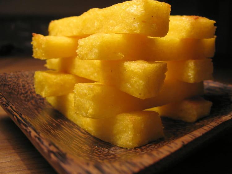 Recette de frites de polenta la recette facile - Polenta cuisson au four ...