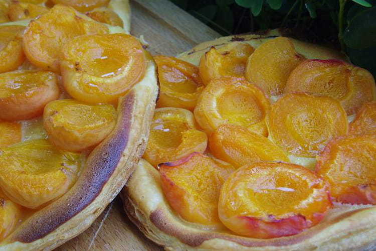 Croustade d'abricots