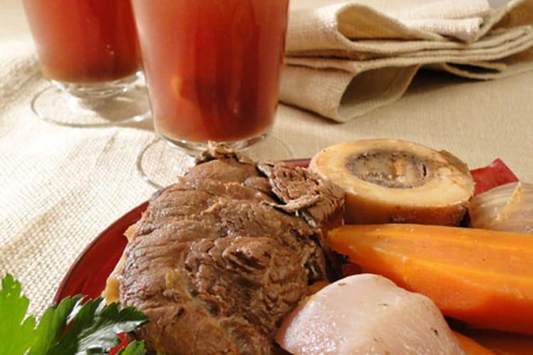 recette de jarret de veau en pot au feu traditionnel 224 la cocotte la recette facile
