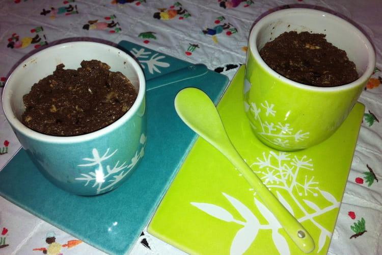 Brouillade d'oeufs au chocolat