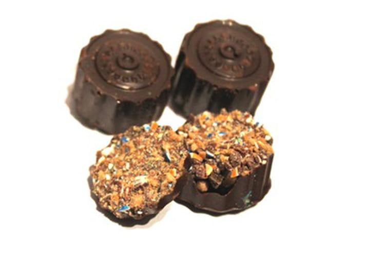 Chocolat maison, coeur de M&M's