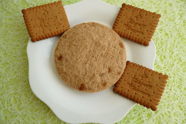 Cookie cru hyperprotéiné aux spéculoos avec yaourt de soja et psyllium