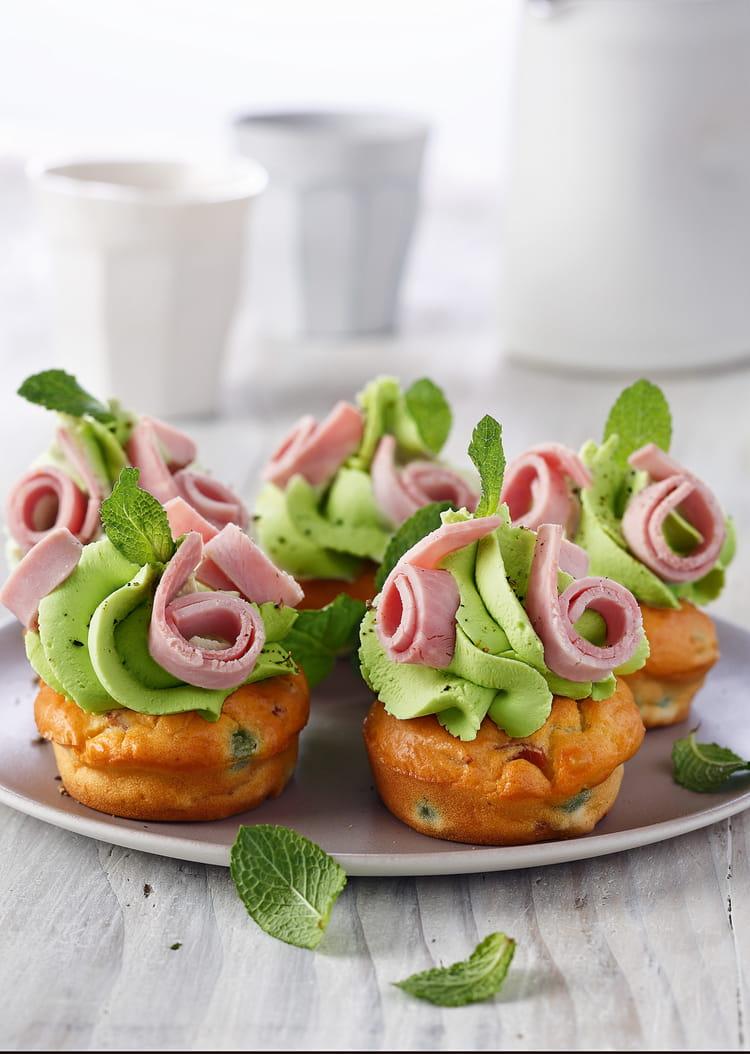 Cake Jambon Petits Pois