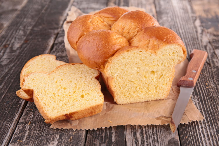 Brioche vendéenne à la machine à pain