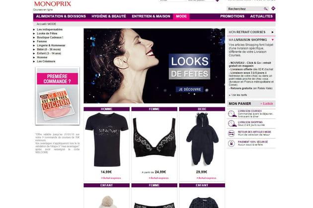 Le e-shop de Monoprix