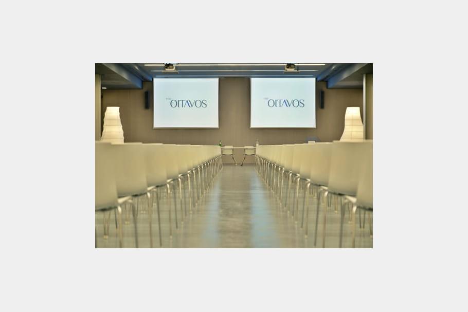 Un grand centre de conférence