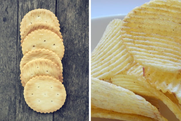 Crackers ou chips?