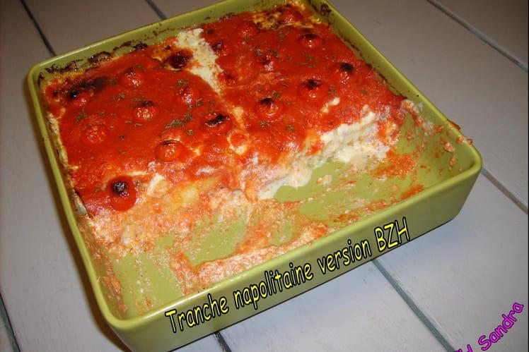 Polenta aux tomates et mascarpone-gorgonzola